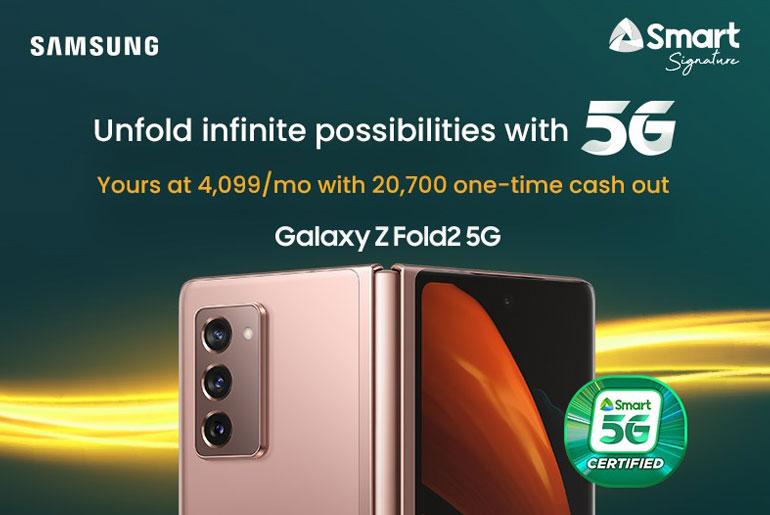 Samsung Galaxy Z Fold2 5G Smart Signature