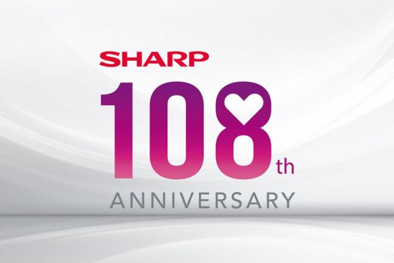 Sharp 108th anniversary