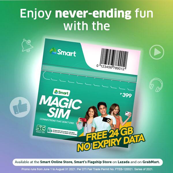 Smart Magic SIM 24GB no expiry data