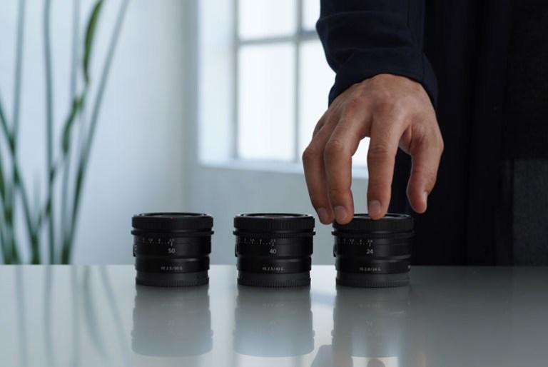 Sony G Lenses to Full-Frame Lens Series