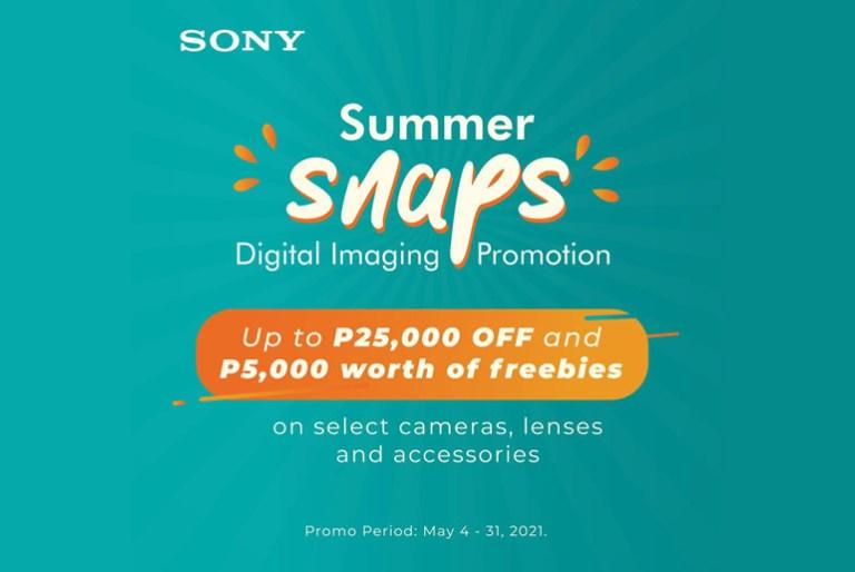 Sony Summer Snaps Promo Sale