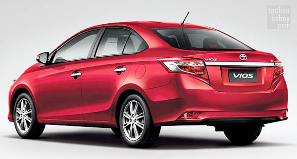 toyota vios 2013 01 Toyota Vios 2013 Priced, to Launch in the Philippines in July