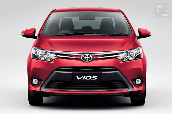 toyota vios 2013 02 Toyota Vios 2013 Priced, to Launch in the Philippines in July