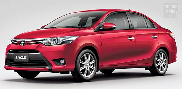 toyota vios 2013 04 Toyota Vios 2013 Priced, to Launch in the Philippines in July