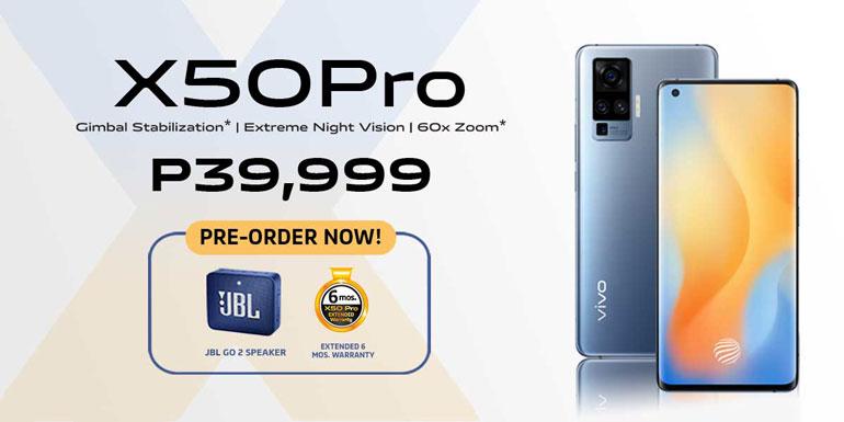 Vivo X50 Pro Pre-order Price Philippines
