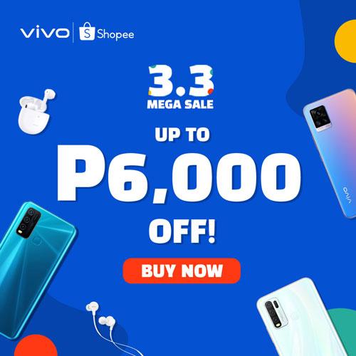 vivo Shopee 3.3 Sale Price List
