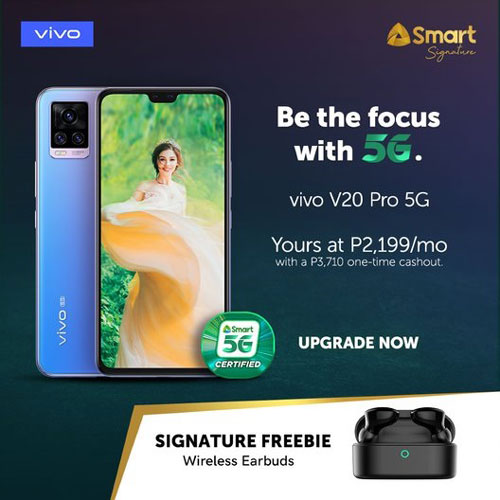 vivo V20 Pro 5G Smart Signature
