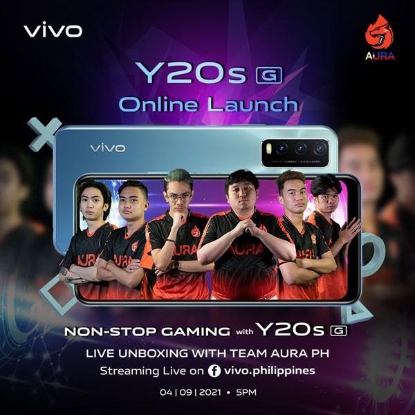 vivo Y20s (G) launch Philippines