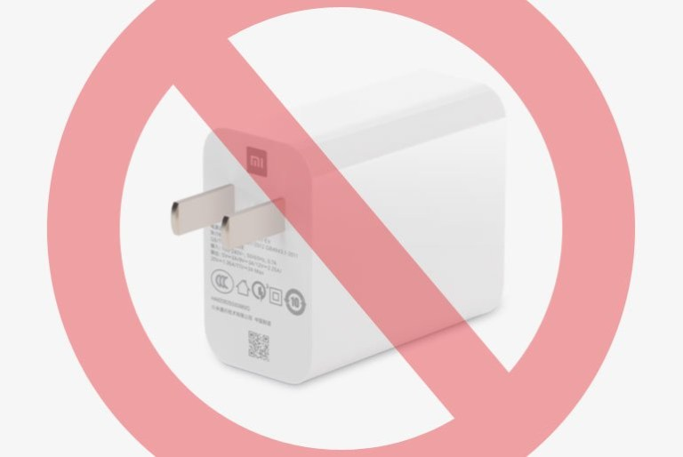 Xiaomi removes chargers from retail boxes