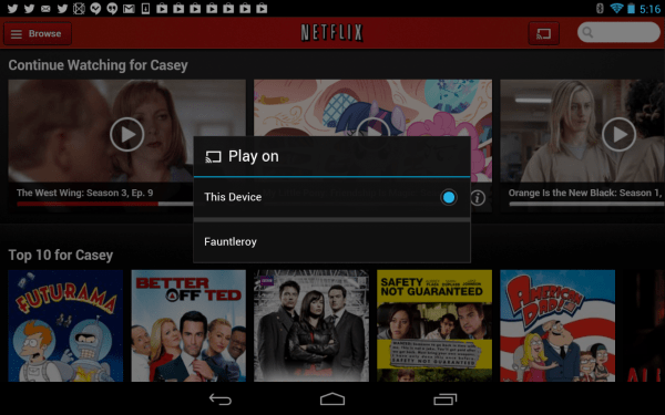How to control Netflix using your phone