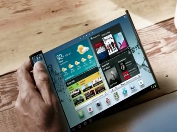 Samsung rumor su smartphone con display pieghevole