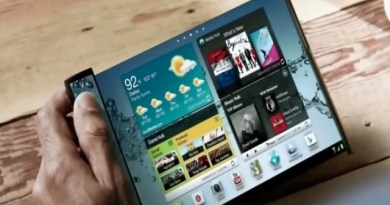 TechnoBlitz.it Samsung rumor su  smartphone con display pieghevole
