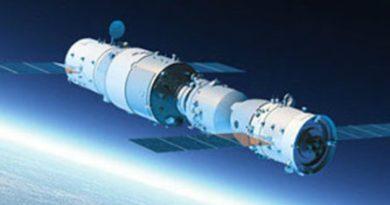 La stazione spaziale cinese Tiangong precipita senza controllo