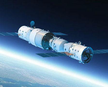 TechnoBlitz.it La stazione spaziale cinese Tiangong precipita senza controllo