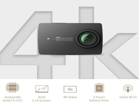 Xiaomi yi 4k approda su amazon italia a 269 best buy for Microfono esterno xiaomi yi