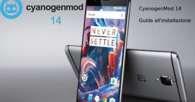 CyanogenMod 14 per OnePlus 3