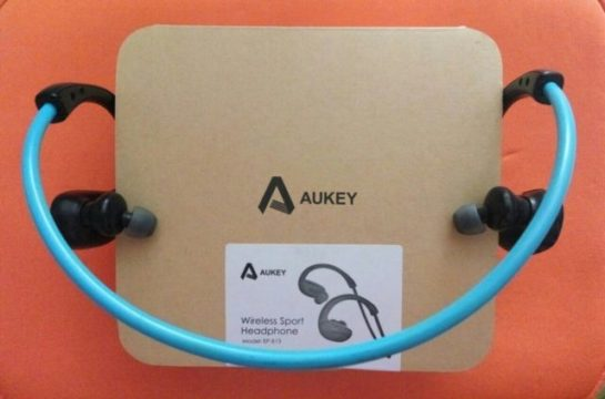 Recensione AUKEY Wireless Sport Headphone