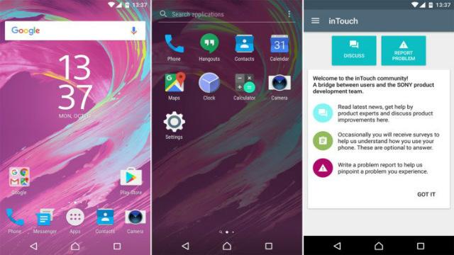 TechnoBlitz.it Disponibile il Concept di Android Nougat per Sony Xperia X
