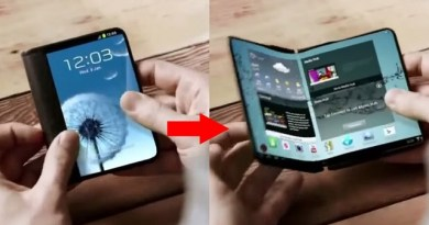 TechnoBlitz.it Samsung intende rilasciare due smartphone pieghevoli