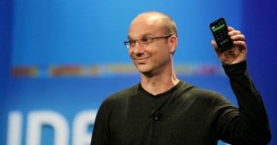 TechnoBlitz.it Andy Rubin: il creatore di Android presenterà uno smartphone