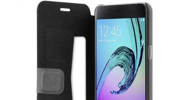 TechnoBlitz.it Recensione Custodia Wallet di Puro per Galaxy A3 2016