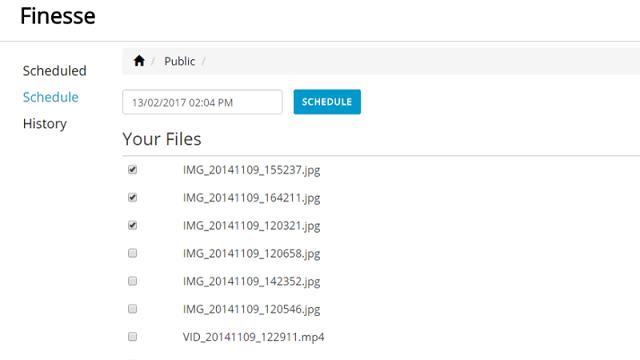 TechnoBlitz.it Programmare eliminazione file da Dropbox con Finesse