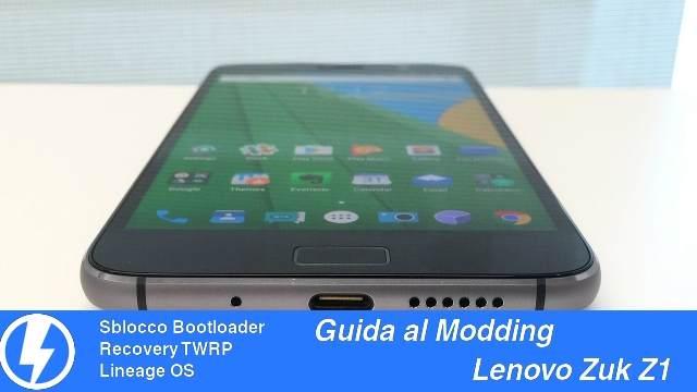 TechnoBlitz.it Sblocco Bootloader, TWRP e Lineage OS su Zuk Z1 - Guida