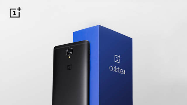 TechnoBlitz.it OnePlus 3T limited edition in collaborazione con Colette