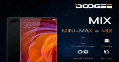 TechnoBlitz.it Anche Doogee ha il suo Mi Mix: display borderless, 6GB e doppia camera!