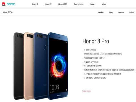 Huawei Honor 8 Pro, le dimensioni contano: più potenza anti-colossi