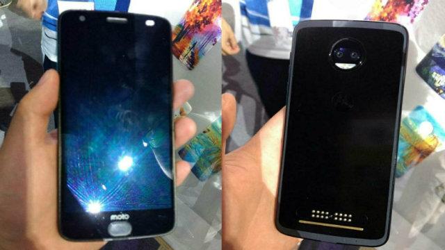 Tre foto leak in real-life mostrano il top di gamma Moto Z2 Force