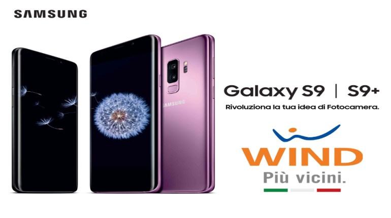 Wind offerta Galaxy S9-S9+