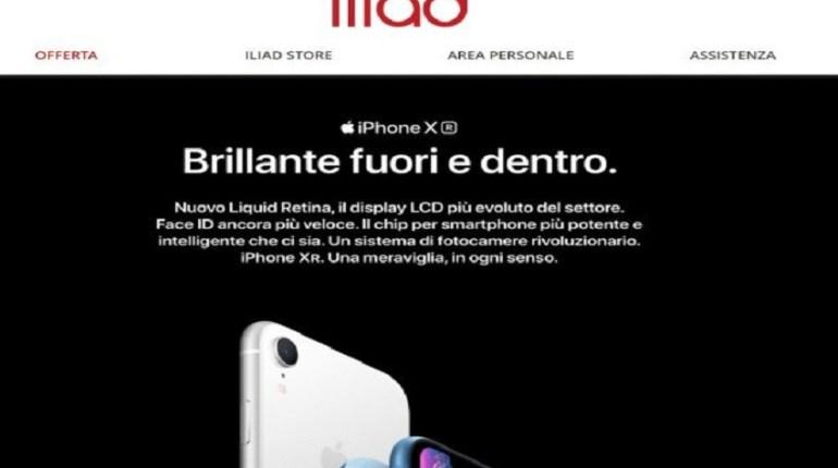 Iliad e iPhone