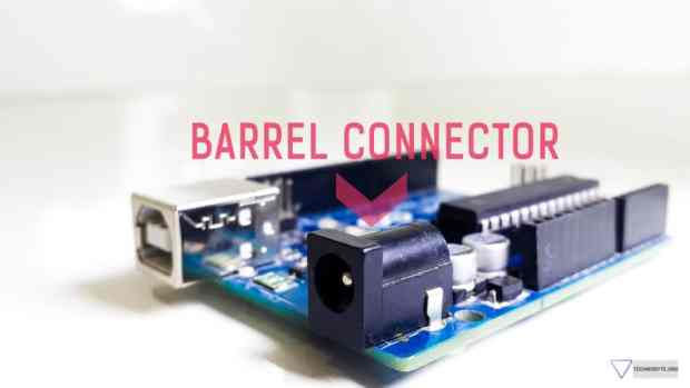 Arduino uno barrel connector
