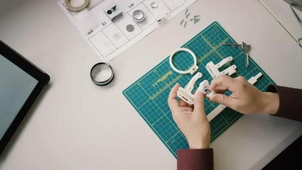 3d printed eye examination kit technobyte