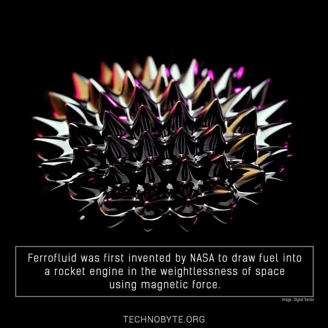 ferrofluid interesting fact