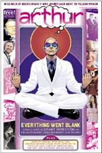 grant morrison arthur magazine cover