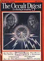 occult digest from the library of jackie gleason