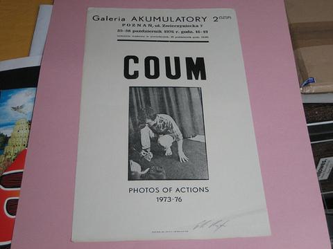 coum transmissions poster