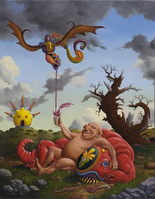pleased as punch by jim woodring