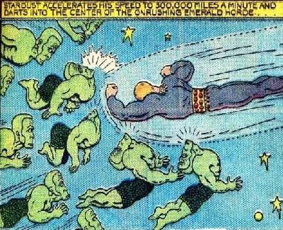 fletcher hanks stardust vs the emerald men