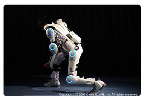 Cyberdyne HAL exoskeleton