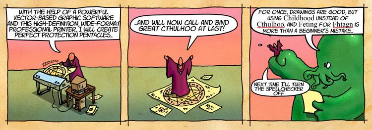 cthulu comic