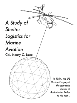 A Study of Shelter Logistics for Marine Aviation