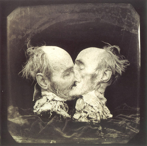 joel peter witkin le baisier