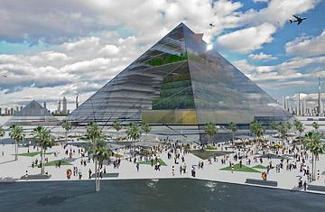 urban farming pyramid