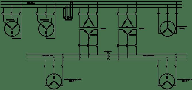 254 singleline electrical diagrams