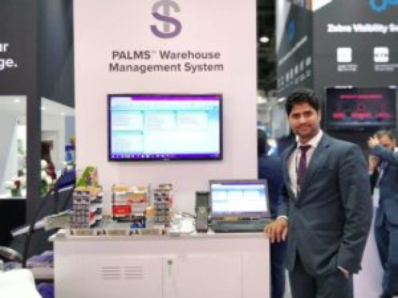 Palms Warehouse Management System in Gitex 2018.