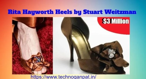 World's 10th most expensive shoe