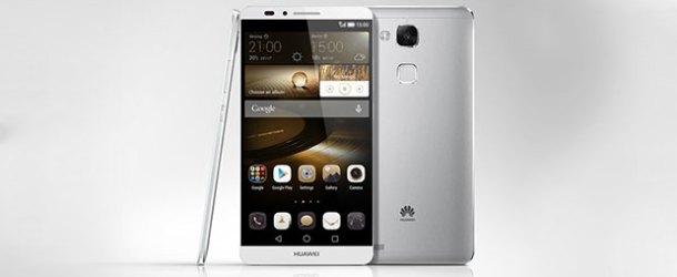 Huawei'nin yeni yıldızı Mate7 raflarda